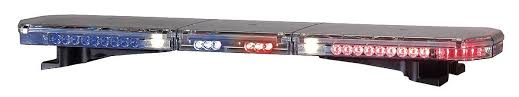 code 3 pursuit light bar 3 light bars
