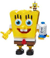 amazon com mega bloks spongebob squarepants block construction