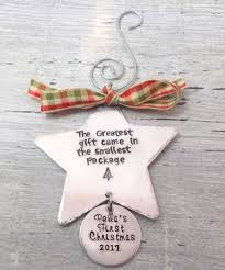 personalized baby christmas ornament personalized baby s christmas ornament christmas