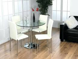 Small Glass Dining Room Tables Compact Small Glass Kitchen Table Sets Dining Glass Top Dining
