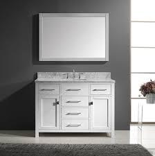 Worthit White Single Bathroom Vanity For Your Home Home - White single sink bathroom vanity
