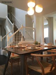 dining room makeovers modern dining room makeover reveal 1 minute easy centerpiece