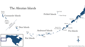 map of aleutian islands unangam tunuu unravel magazine