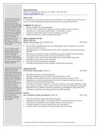 Describe Language Skills On Resume Gary Armstrong Procurement Buyer 1 Word Doc