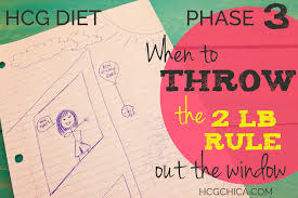 p3 hcg diet when to throw the 2 lb rule out the window 1 you