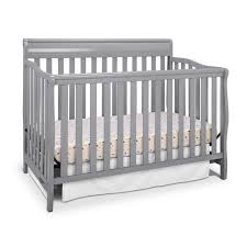 Graco Stanton Convertible Crib Reviews Graco Stanton 4 In 1 Convertible Crib Pebble Gray Walmart