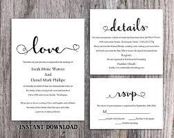diy wedding invitation template wedding invitation set templates 57 best printable wedding