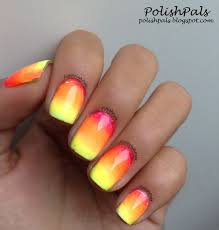 polish pals neon tribal