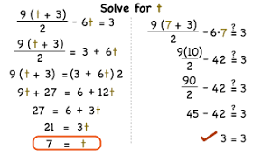 how do you solve a multi step equation using order of operations