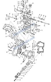 johnson carburetor group parts for 1964 9 5hp mq 10 outboard motor