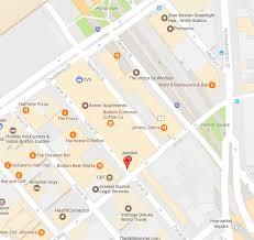 Traffic Map Boston by Open Canal Street