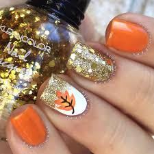 top 17 fall thanksgiving nail design new fashion manicure