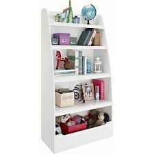 ameriwood home mia kids u0027 4 shelf bookcase white walmart com