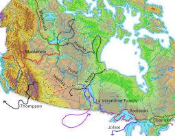 map of canada east coast sir mackenzie explorer the canadian encyclopedia