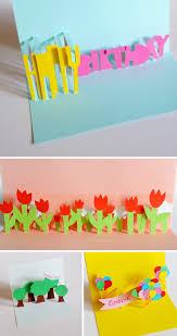 pop up birthday card diy how to diy 3d gift box pop up card free