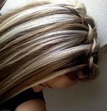 chocolate hair with platinum highlight pictures image result for chocolate brown hair with chunky blonde