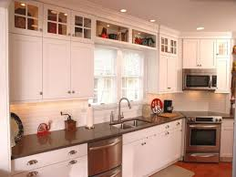how to finish the top of kitchen cabinets kitchen design ideas for decorating above kitchen cabinets how to