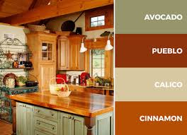 kitchen colors with medium brown cabinets 30 captivating kitchen color schemes