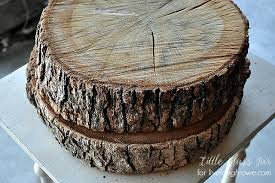 tree stump cake stand diy wood slab cake stand live laugh rowe