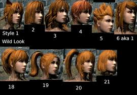 best hair mod for skyrim kuma kuma kokuma hair and bagserk hair retexture at skyrim nexus