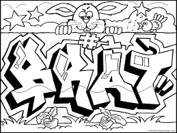 graffiti coloring pages generator coloring