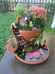 build it don u0027t buy it diy broken pot fairy garden