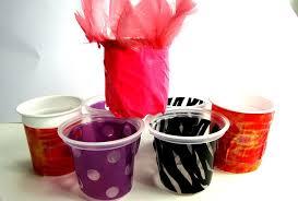 riciclare bicchieri di plastica riciclo creativo della plastica idee per riciclare i vasetti