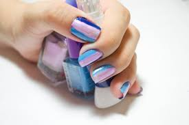how to care for hands and apply nail polish for springtime summer