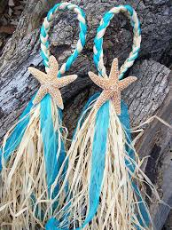 starfish decorations small starfish and raffia decoration wedding decor