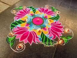 rangoli decoration gorgeous rangoli designs and ideas for diwali 2017 festival