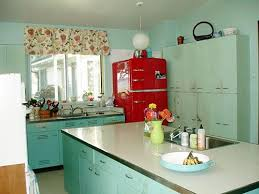 paint colors for metal kitchen cabinets nancy s metal kitchen cabinets get a fresh coat of paint