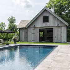 Backyard Pool Houses by 656 Best Outside Fireplaces And Pools Images On Pinterest