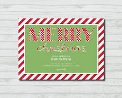 creative office christmas party invitation free templates features