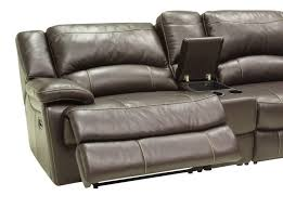 Reclining Leather Armchairs Living Room L Shaped Sectional Sofa With Recliner Reclining