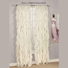 Frilly Shower Curtain Sheer Curtains U0026 Window Treatments Touch Of Class