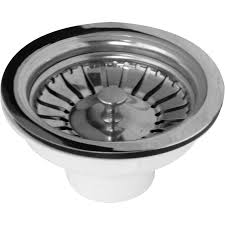 Stainless Steel Basket Strainer Waste   Toolstation - Kitchen sink basket strainer waste