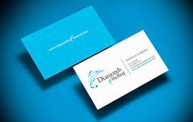 diamonds of the reef business card branding gavula design