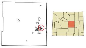 Evansville In Zip Code Map by Evansville Wyoming Wikipedia