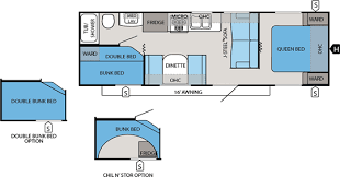 Travel Trailers With Bunk Beds Floor Plans Jay Flight Travel Trailers Jayco Inc