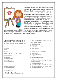 second grade reading comprehension worksheets u2013 wallpapercraft
