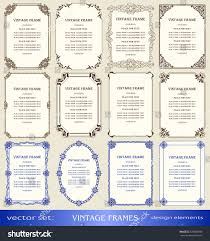Vintage New Years Decorations by Royalty Free Vintage Frames And Borders Set Book U2026 326802998