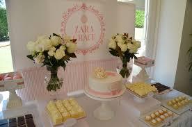 christening dessert table