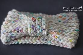 crochet band free crochet pattern knit look headband