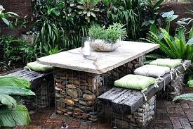 rock garden water feature green mountain marble tumble stone how