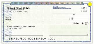 high security personal checks promise checks