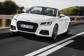 lexus is 250 vs audi tt 2016 audi tt tts roadster review