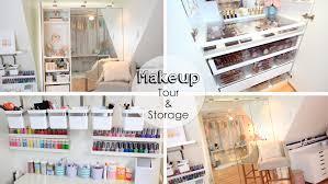 ideas makeup storage ideas
