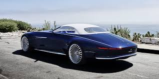 mercedes mercedes maybach 6 cabriolet concept the study of a 6 meter