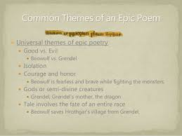 themes of beowulf poem the anglo saxon age and beowulf