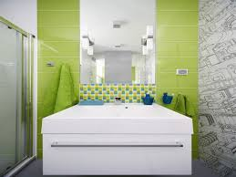 Green And White Bathroom Ideas by Amazing Modern Green Bathroom Designs Orchidlagoon Com
